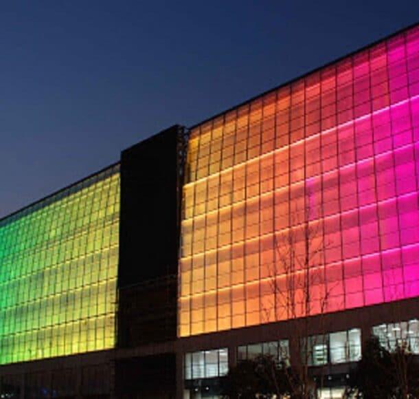 Facade lighting services dubai